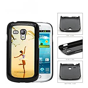 Ballerina Dancing With Pigeons Flying Hard Plastic Snap On Cell Phone Case Samsung Galaxy S3 SIII Mini I8200
