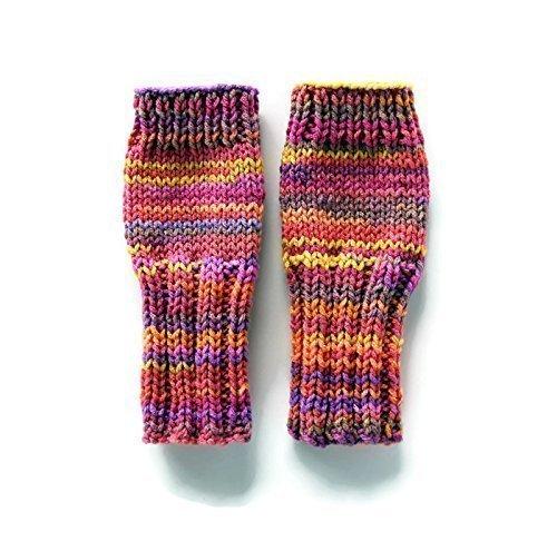 Girls Fingerless Gloves, Girls Gloves, Kids Fingerless Gloves, Tween Girl Gloves, Girls Arm Warmers, Sunset Gloves