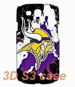 NFL Minnesota Vikings Team Logo 3D Diy For SamSung Galaxy S4 Case Cover