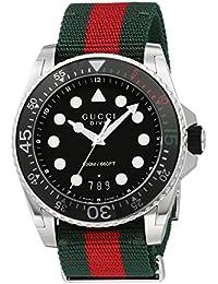 Swiss Quartz Stainless Steel and Nylon Dress Multi-Color Men's Watch(Model: YA136209)