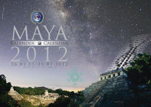 Maya 2012: Kalender/Calendar