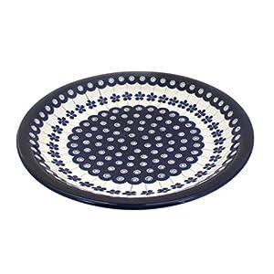 Boleslawiec Pottery Assiette en céramique de Boleslawiec Motif 166a