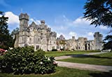 Ashford Castle County Mayo Ireland Exterior Of A 13Th Century Castle Poster Print (36 x 24)