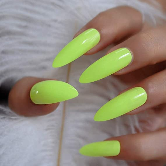 EchiQ - Pegamento de gel UV extra largo para uñas postizas, color ...