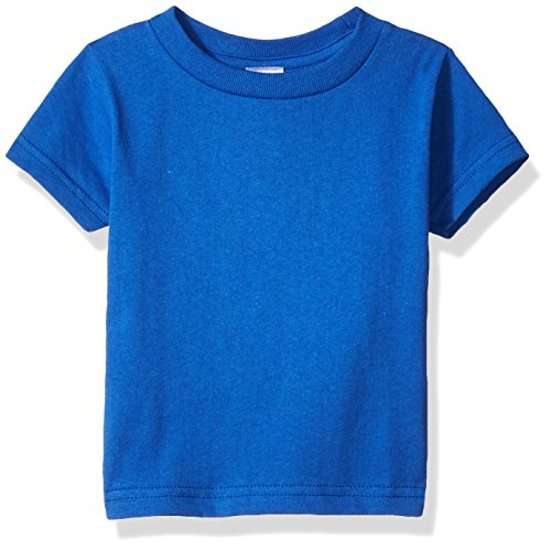 (Clementine Baby Infant Soft Cotton Jersey T-Shirt, Royal, 18MOS)