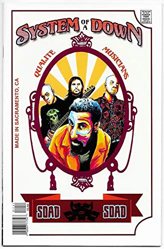 (Rock And Roll Biography Comics #11 System Of A Down (Acme Ink, 2018) VF/NM)
