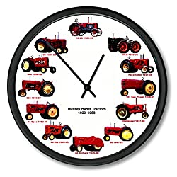 New Massey Harris Wheel Dial - 12 Tractors Clock 10