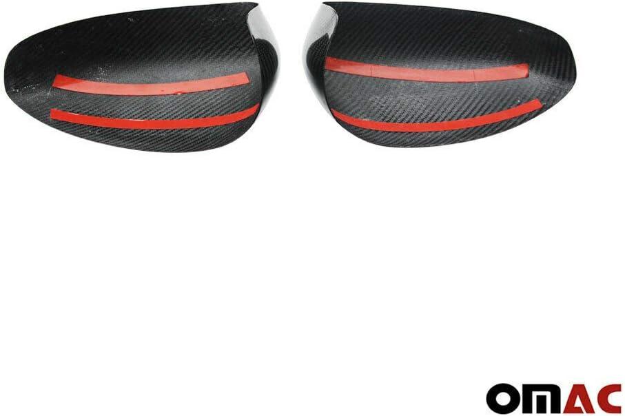 Echt Carbon Spiegelkappen Blenden Spiegel Abdeckung Schutz f/ür 500-500C Echt Carbon ab 2007