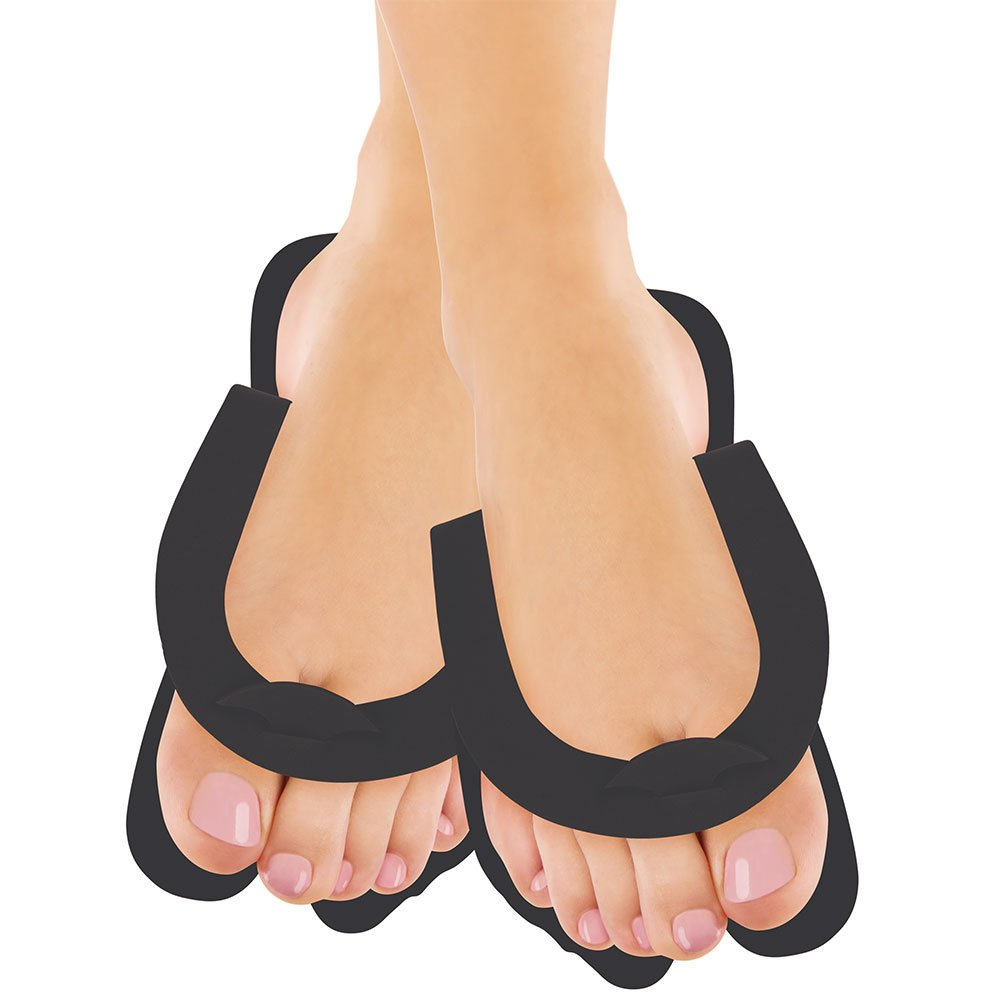 Fold Up Pedi Slippers Black 360-pr. by For Pro (Image #2)