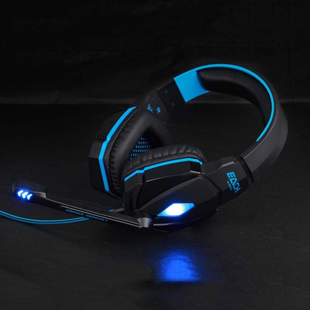 Blue SimplylinG4000 Gaming Headset Wired Earphone Gamer Headphone with Microphone for PS4