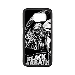 Black Sabbath Samsung Galaxy S6 Cell Phone Case White AMS0634293