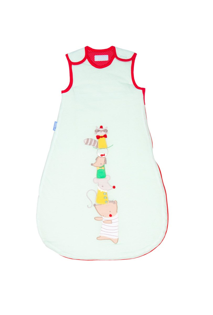 Gro Mapache - Saco de dormir premium, para 18-36 meses, 98 cm, multicolor: Amazon.es: Bebé