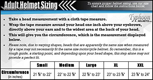 Typhoon Women's Modular Full Face Motorcycle Helmet - Street Bike Flip-Up Dual Visor DOT (Pink XL)
