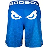 Bad Boy Legacy II Shorts - Blue/White Fight Shorts MMA BJJ MMA Fight Shorts Grappling Free Fight Shorts Mens