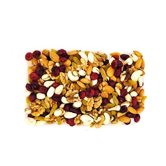 Organic Cart Natural Dry Fruit Mix/Nut Mix 450 Grams Cashew Walnut Almond Pistachios Raisin Cranberries
