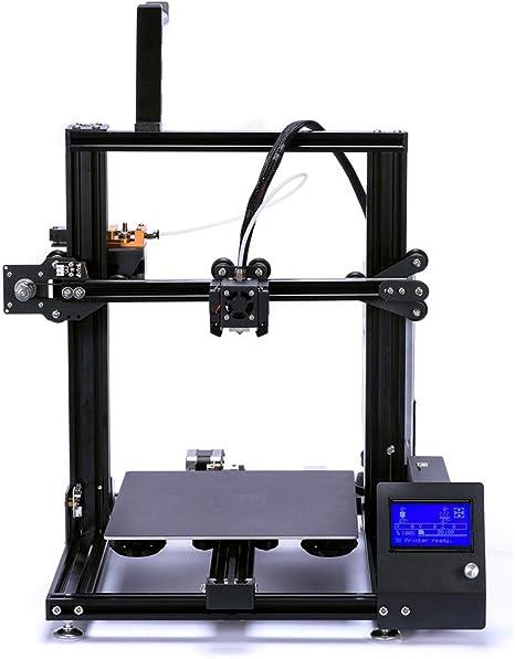 BESTSUGER Impresora 3D, Volumen de compilación de la Impresora 3D ...