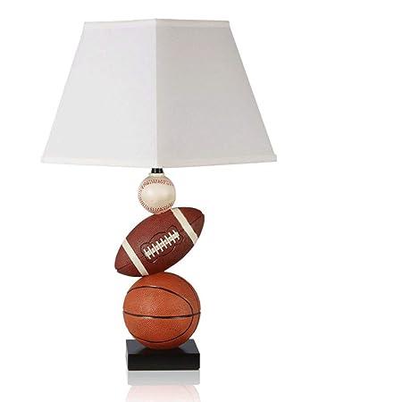AAPDZ Lámpara de Mesa Decorativa del Hotel Baloncesto Baloncesto ...