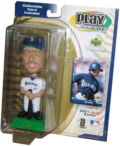 Ichiro swing doll 2001 MLB (Bobblehead / bubble head) ICHIRO BOBBLE-HEAD