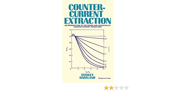 Counter Current Extraction An Introduction To The Design And Operation Of Counter Current Extractors 1st Hartland Stanley Amazon Com