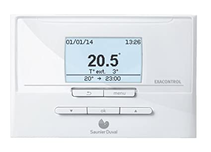 Saunier Duval e7c - Termostato de control ambiental