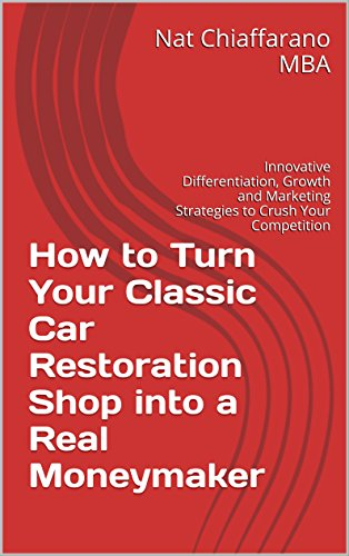 Body Restoration Plan (How to Turn Your Classic Car Restoration Shop into a Real Moneymaker: Innovative Differentiation, Growth and Marketing Strategies to Crush Your Competition)