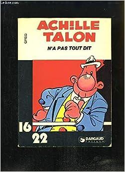 Achille Talon n'a pas tout dit (Achille Talon...)