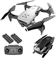 DRONE-CLONE XPERTS Drone X Pro AIR 4K Ultra HD Dual Camera FPV WiFi Quadcopter Follow Me Mode Gesture Control 2 Batteries In