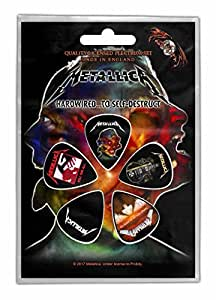 Metallica 5 plectrum pack guitar picks