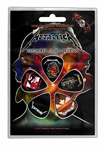 Metallica 5 plectrum pack guitar picks (Metallica Pick For Guitar)