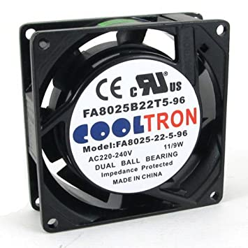 230v Ac Cooling Fan 80mm X 25mm Hs Amazonin Home Kitchen