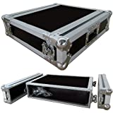 2 Space 2u 15 Inches Deep Heavy Duty 3/8 Ply ATA Amp Rack Case - Closeout