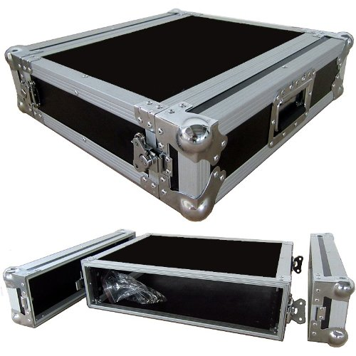 2 Space 2u 15 Inches Deep Heavy Duty 3/8 Ply ATA Amp Rack Case - Closeout by Roadie Products, Inc.