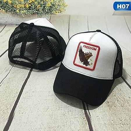 XUJJA Gorra de béisbol de Malla de Moda Gorras Unisex de Animales ...