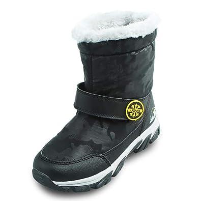 029217ae0d78e snofiy ブーツ キッズ スノーブーツ 女の子 男の子 ジュニア 可愛い 保温 防水 スキー 雪遊び 冬用