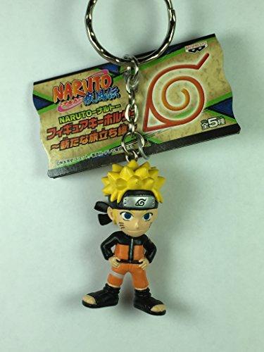 Banpresto Uzumaki Naruto - Naruto Shippuden Aratana Tabidachi Hen Figure Mascot Keychain
