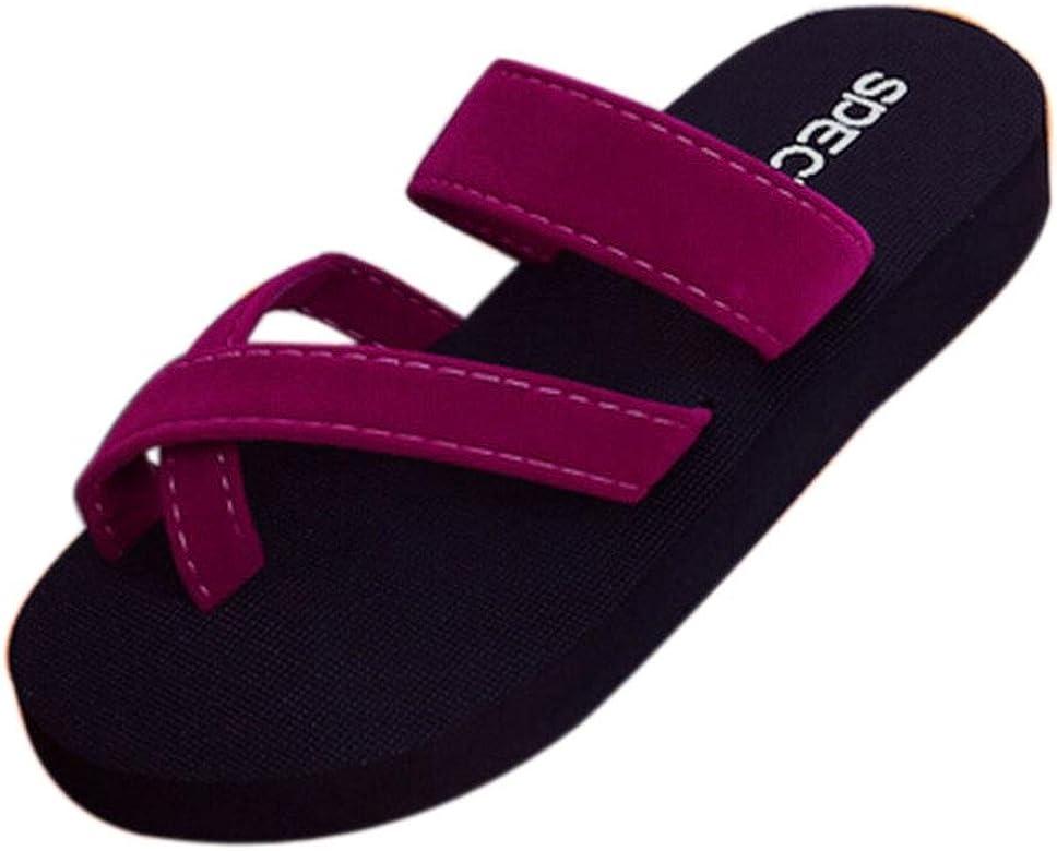 7e905c580 Summer Flip Flops, AgrinTol Casual Womens Slippers Flat Sandals Beach Open  Toe Shoes