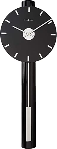 Howard Miller Hudson Wall Clock 625-403 Contemporary Nickel