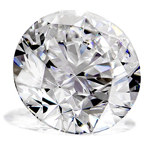 0.91 Ct. | Round | D Color | VVS1 Clarity | U.S. Man Made Diamond ()