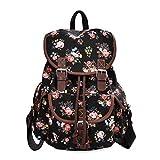 Epokris Black Backpack for Girls Floral School Bags - Best Reviews Guide