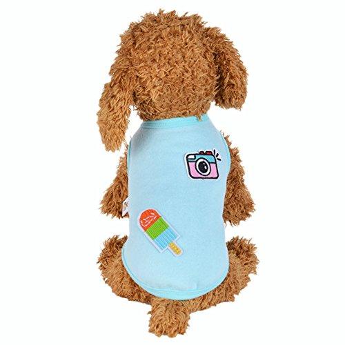 Little rock Pet Dog Clothes Cat Puppy Pet Puppy Spring Summer - Little Mall Rock