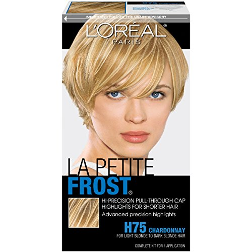 L'Oréal Paris Le Petite Frost Cap Hair Highlights For Shorter Hair, H75 Chardonnay
