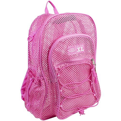 eastsport-xl-mesh-bungee-backpack-blush-pink