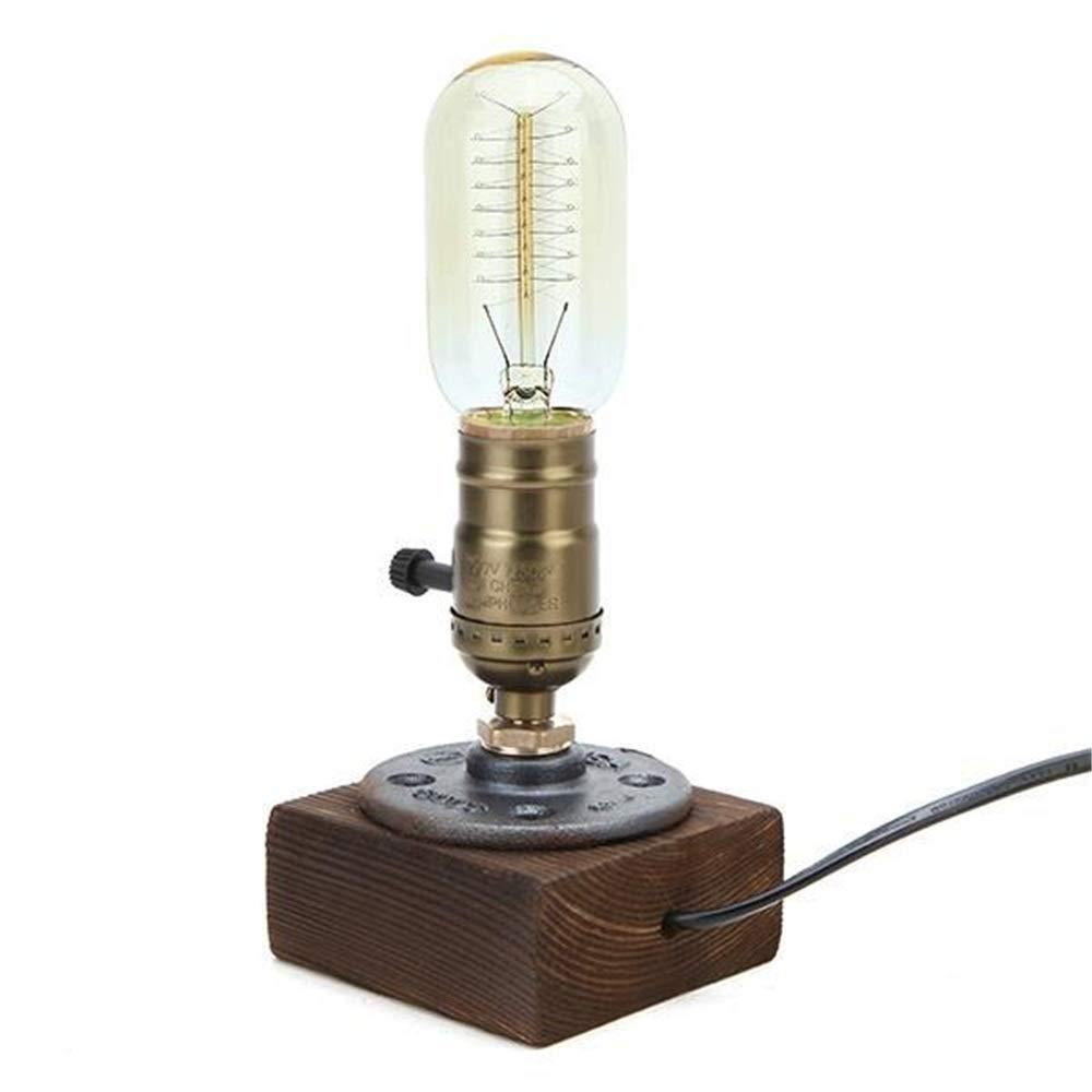 Mesita de Noche de la lámpara Lámpara de Mesa de la Vendimia ...