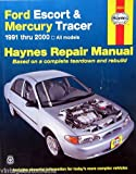 1991-2000 Haynes Repair Manual - Ford Escort & Mercury Tracer