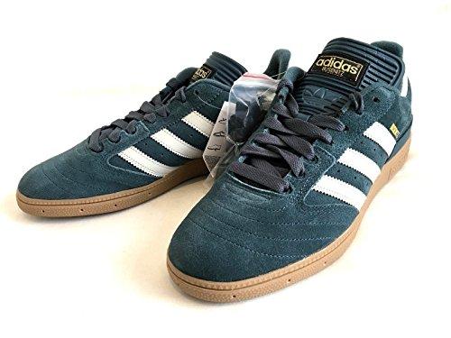 adidas Busenitz - Zapatillas de Ante Para Hombre Azul Dusky Blue
