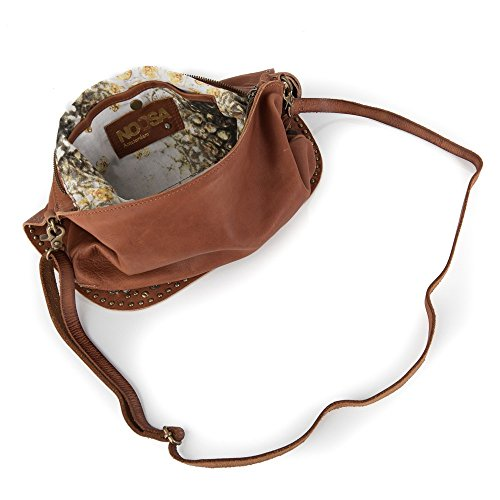 Noosa Handtasche Shoulderbag Nivkh Amulet midbrown