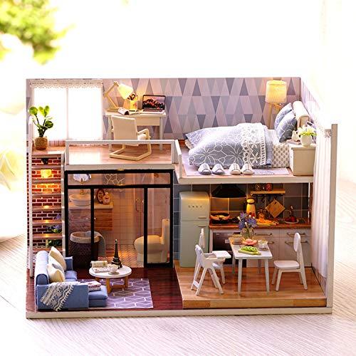 XCXDX Modelo De Arquitectura Micro Paisajista, Pequeña Casa ...