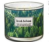 Bath & Body Works, 3-Wick Candle, Fresh Balsam