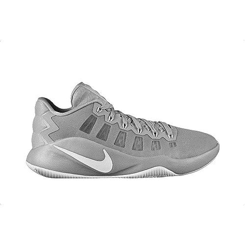 buy online 08600 46da4 NIKE Hyperdunk 2016 Low Mens Basketball Shoes (Wolf Grey White 010, 8.5)   Amazon.co.uk  Shoes   Bags