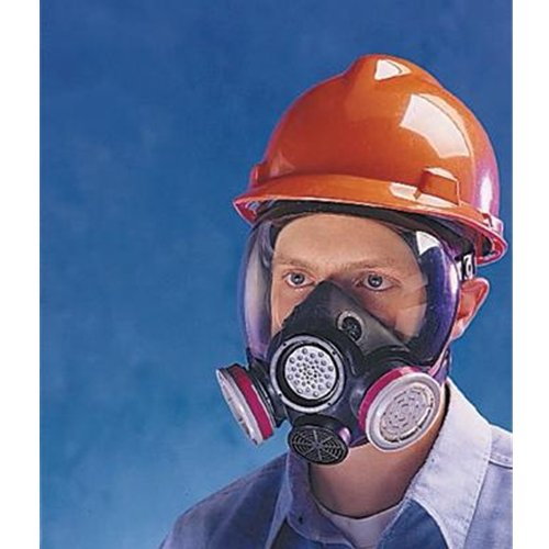 Hycar Advantage® 1000 Low-Maintenance Full Mask Face Piece Respirator with Nose Cup and Speaking ()